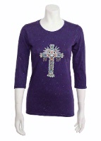 Jack Flash Tees: Cross Aztec LS, 3/4 Sleeve S-2XL