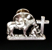 Praying Cowboy Collection:  Charm Tac Pin