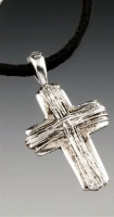 A SALE Praying Collection: Cross Rustic on Micro Suede 20 Inch SALE