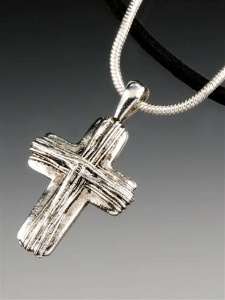 SALE Praying Collection: Cross Rustic on Chain 18 Inch SALE