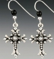 A SALE Praying Collection: Old World Cross Earrings SALE