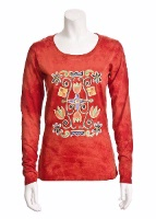 Jack Flash Tees: Navajo Scroll LS, 3/4 Sleeve S-2XL