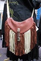 ZSold Bag Deerskin: Sidekick Little Light Combo with Fringe Leather SOLD