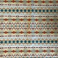 Rockmount Ranch Wear Accessory: Bandana Native Print Cream