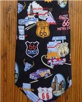 Rockmount Ranch Wear Accessory: Necktie Route 66 Silk