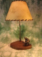 ZSold Lamp by Western Lamps: 49er SOLD