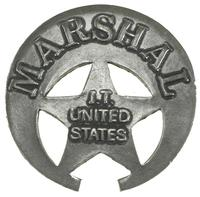 Colorado Silver Star Old West Badge: U.S. Marshal IT