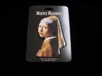 ZSold Lucy Lu Designs King Mighty Magnet: Girl with Pearl Earring SOLD