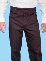 ZSold Scully Men's Old West Pant: Wahmaker Pant Dress Twill Brown 28-42 SOLD