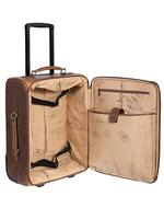 Scully Luggage Leather: 81st Aero Squadron Airborne Collection Wheeled Carry-On