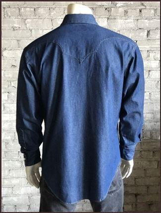 Dark Denim Shirt Mens