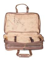 Scully Luggage Leather: 81st Aero Squadron Airborne Collection Duffel Bag Large