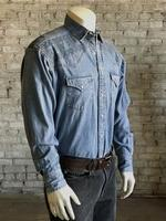 Rockmount Ranch Wear Men's Vintage Western Shirt: Native Crossroads Denim SALE