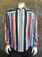 Rockmount Ranch Wear Men's Western Shirt: Print Serape Stripes