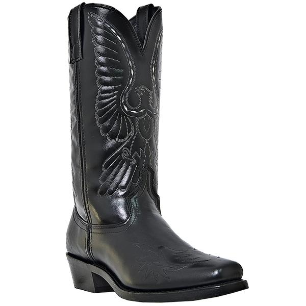 Men's Dan Post Boots Laredo Work: Gainesville Black