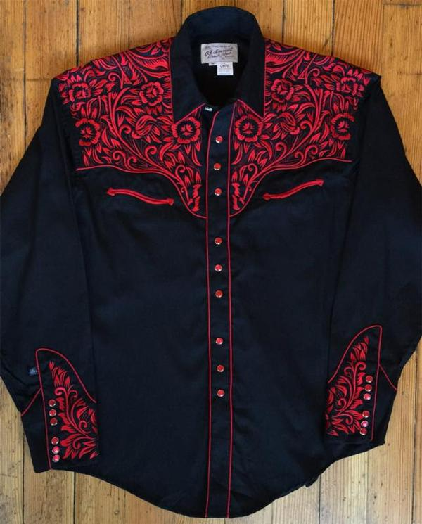 Mens Western Show Shirts