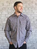 Rockmount Ranch Wear Men's Western Shirt: A Plaid Black and Red Advance Order