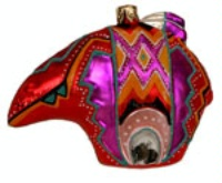 ZSold Artistry of Poland Ornament: Southwest Fetish Bear SOLD