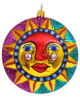 Artistry of Poland Ornament: Sun and Moon