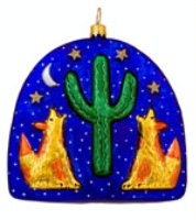 ZSold Artistry of Poland Ornament: Southwest Starry Night SOLD