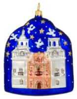 ZSold Artistry of Poland Ornament: Mission San Xavier SOLD