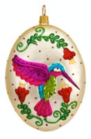 ZSold Artistry of Poland Ornament: Hummingbird SOLD