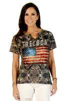 ZSold Liberty Wear T-Shirt: Freedom Camo SOLD