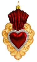 Artistry of Poland Ornament: Heart Flaming
