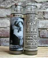 ZSold Side Saddle Empowerment Candle: Style SOLD