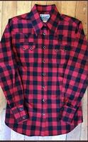 Rockmount Ranch Wear Ladies' Western Shirt: Buffalo Check Red S-XL