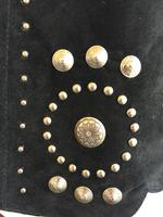 A Scully Ladies' Leather Suede Jacket: Western Studs and Conchos