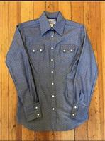 Rockmount Ranch Wear Ladies' Western Shirt: A Cotton Dobby Chambray S-XL