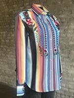 Rockmount Ranch Wear Ladies' Vintage Western Shirt: A Embroidered Serape Backordered