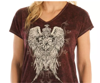 Liberty Wear Top: Ornate Wings