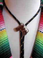 ZSold Bolo Tie: Horse on Cord SOLD