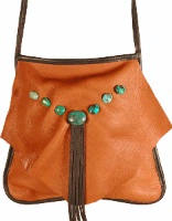 ZSold Deerskin: Riata Style Single Color Leather SOLD