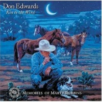 ZSold CD Don Edwards: Kin To The Wind 2016 Radio Guest SOLD