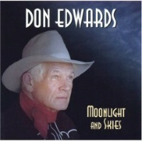 ZSold CD Don Edwards: Moonlight and Skies 2016 Radio Guest SOLD