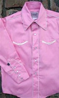 ZSold Rockmount Ranch Wear Children's Vintage Western Shirt: Classic Style with Piping Pink XS-XL SOLD