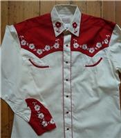 ZSold Rockmount Ranch Wear Children's Vintage Western Shirt: Elvis Red SOLD