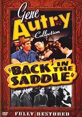A DVD Singing Cowboy Gene Autry: Back in the Saddle