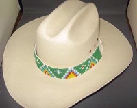 ZSold Apache: Beaded Hat Band SOLD