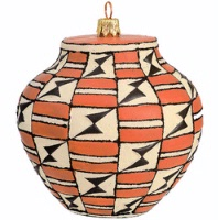 ZSold Artistry of Poland Ornament: Southwest Pot Acoma #2 SOLD