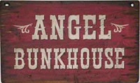 ZSold Cowboy Brand Furniture: Wall Sign-Kids-Angel Bunkhouse