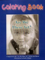 ZSold CHBK Joni Harms: Are We There Yet Coloring Book Signed SOLD