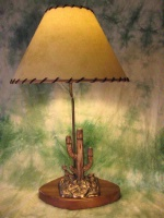 ZSold Lamp by Western Lamps: Arizona Tableaux SOLD