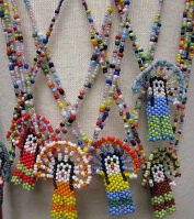 A Navajo Necklace: Beaded Chief