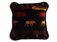Denali® Rustic Collection: Black Denali Lake Pillow