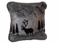 Denali® Rustic Collection: Black Forest Friends Pillow