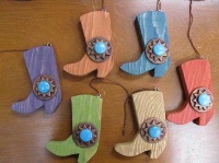 Casa Tranquila Designs: Ornament Cowboy Boot
